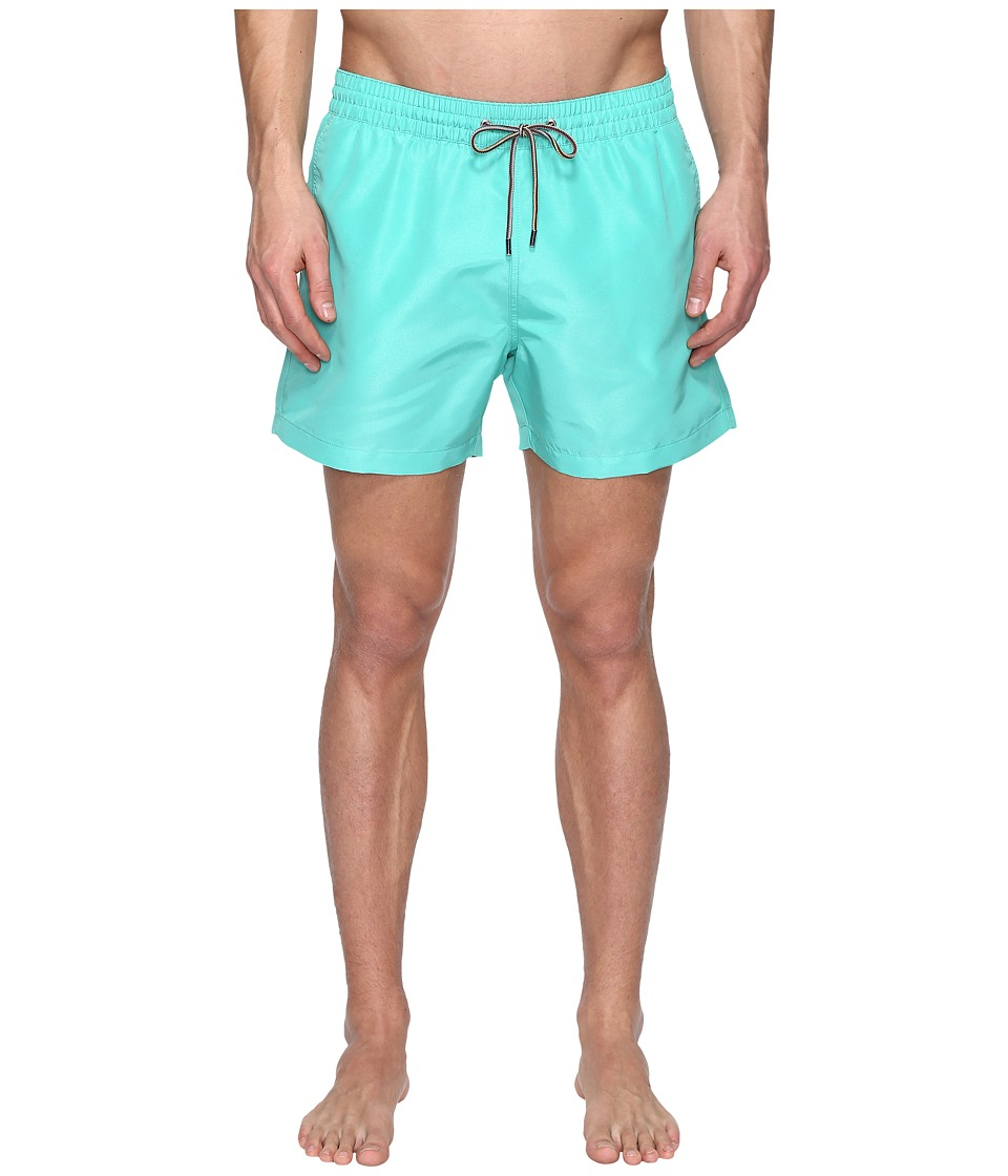 Paul Smith - Short Classic Swimsuit (Green) Men's Swimwear