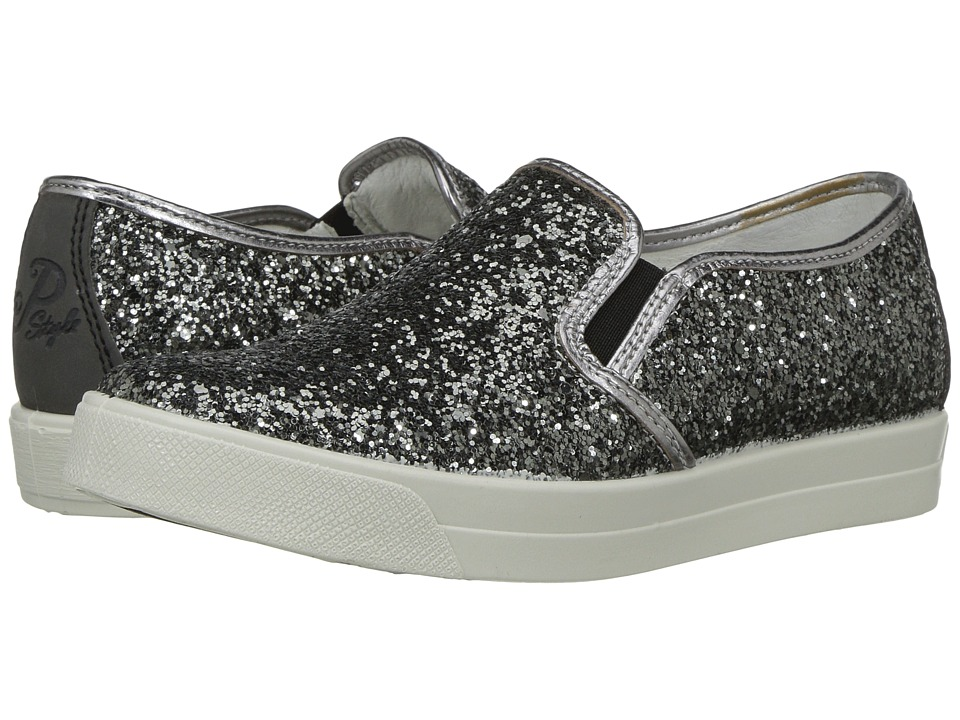 Primigi Kids - PAN 7578 (Little Kid) (Grey) Girl's Shoes