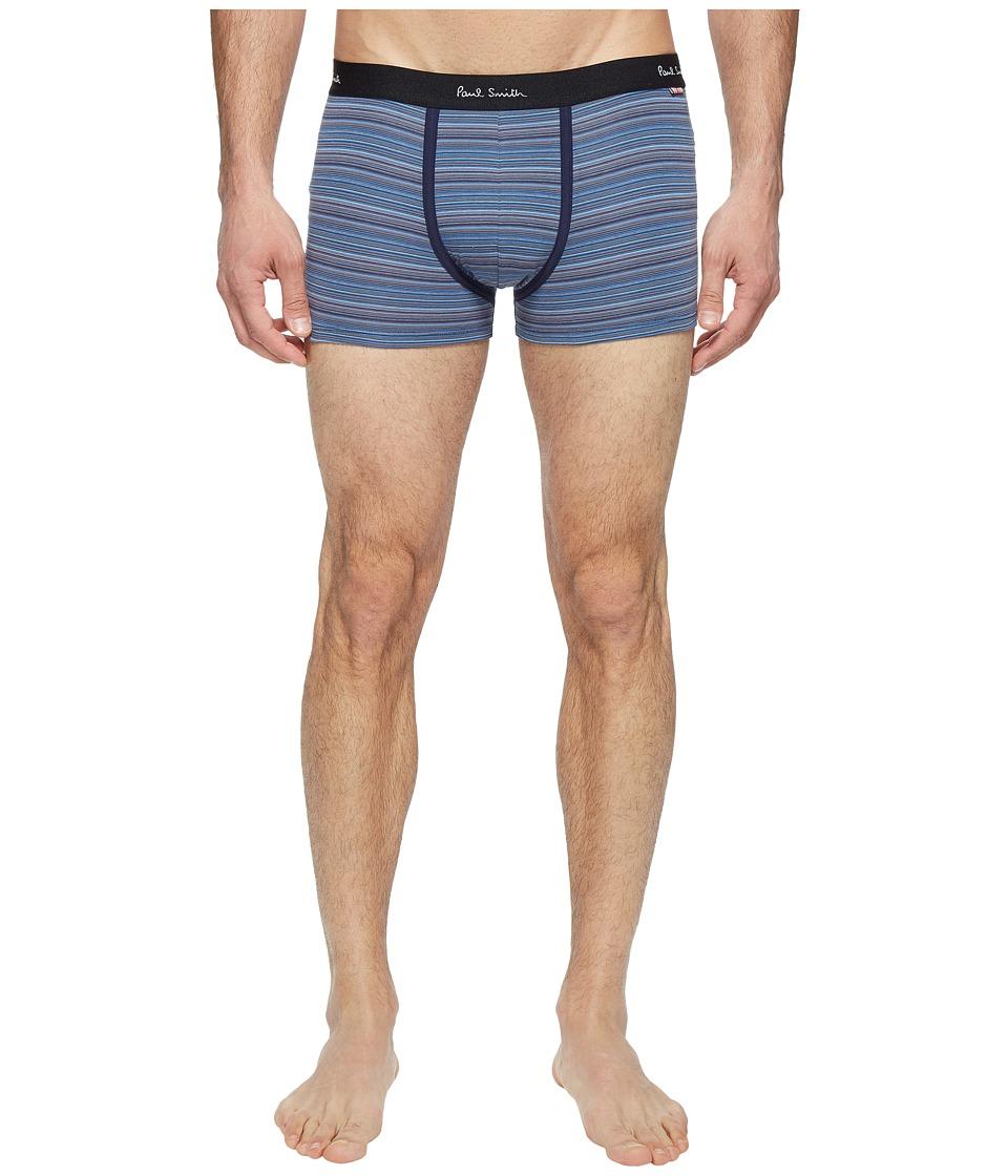 Paul Smith - Multi Stripe Trunk (Navy Multi) Men's Underwear