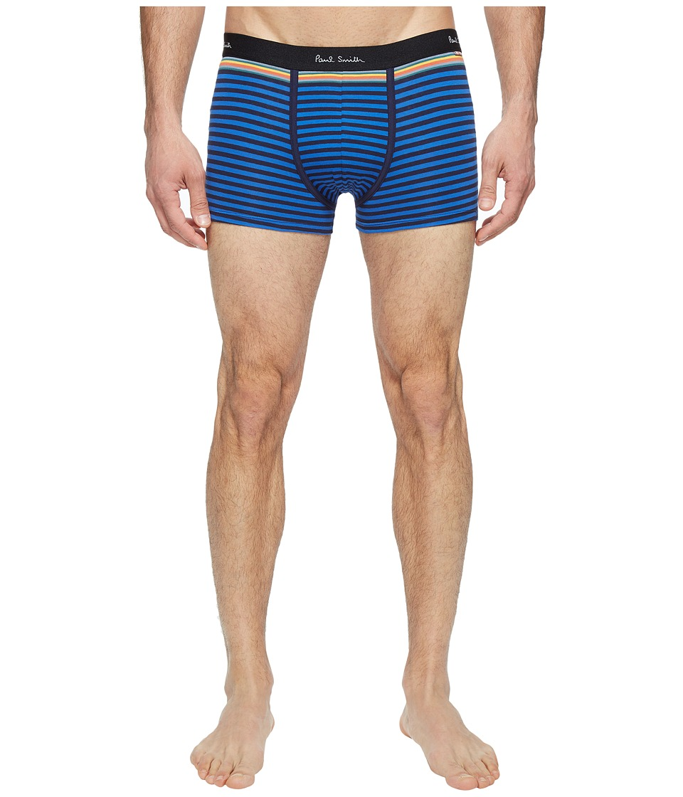 Paul Smith - Bold Stripe Low-Rise Boxer Brief (Blue) Men's Underwear