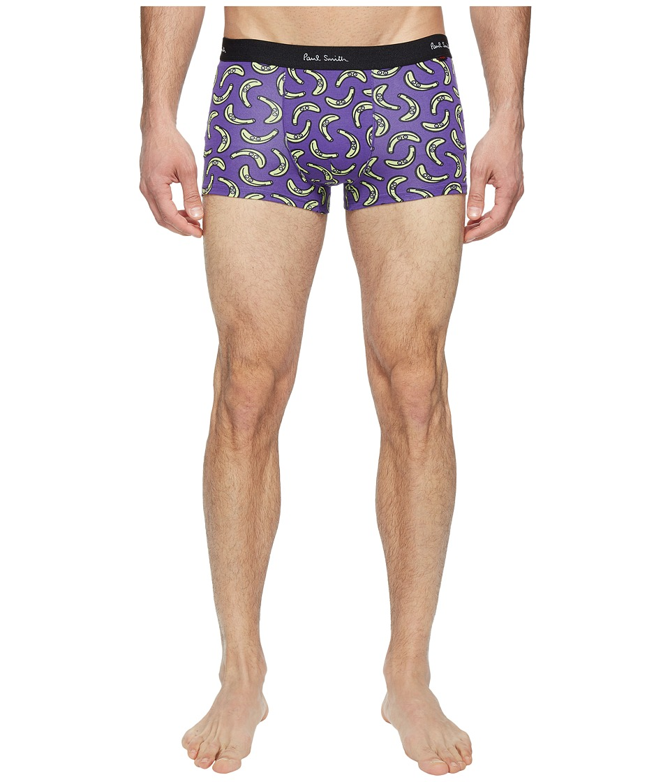 Paul Smith - Banana Pop Trunk (Blue) Men's Underwear