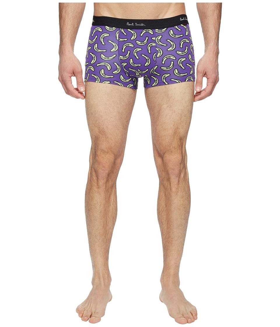 Paul Smith - Banana Pop Trunk (Blue) Men's Underwear