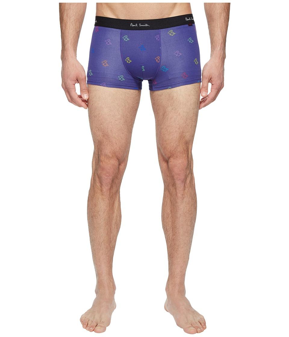 Paul Smith - Rabbit Pop Trunk (Blue) Men's Underwear