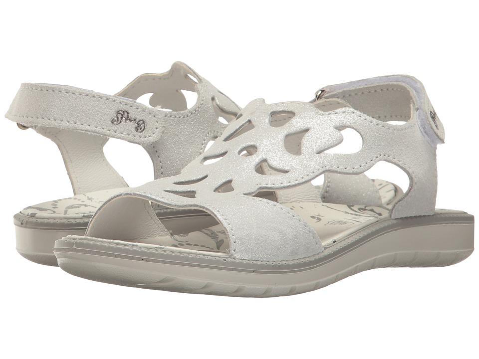 Primigi Kids - PAT 7615 (Little Kid) (Silver) Girl's Shoes