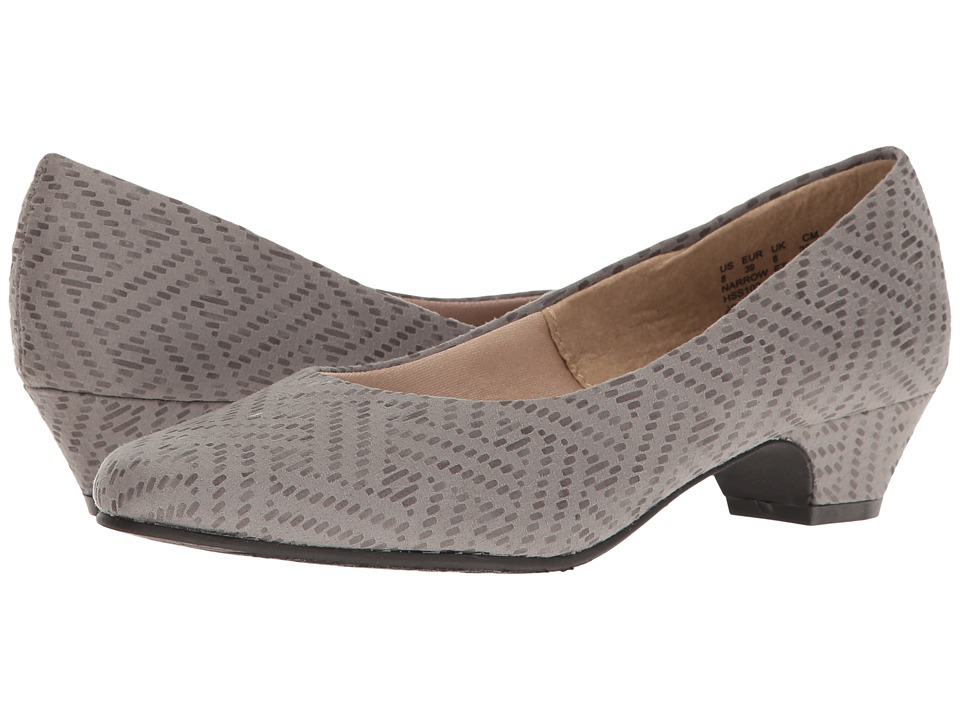 Soft Style - Angel II (Light Grey Pixel) Women's 1-2 inch heel Shoes