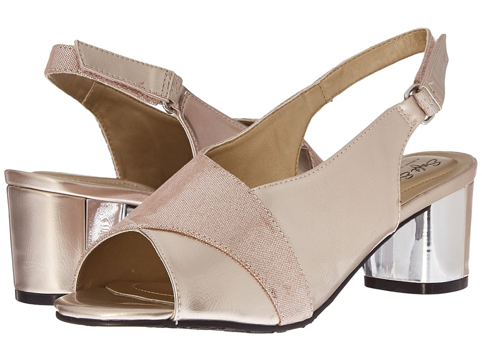 Soft Style - Maia (Pink Tint) Women's 1-2 inch heel Shoes