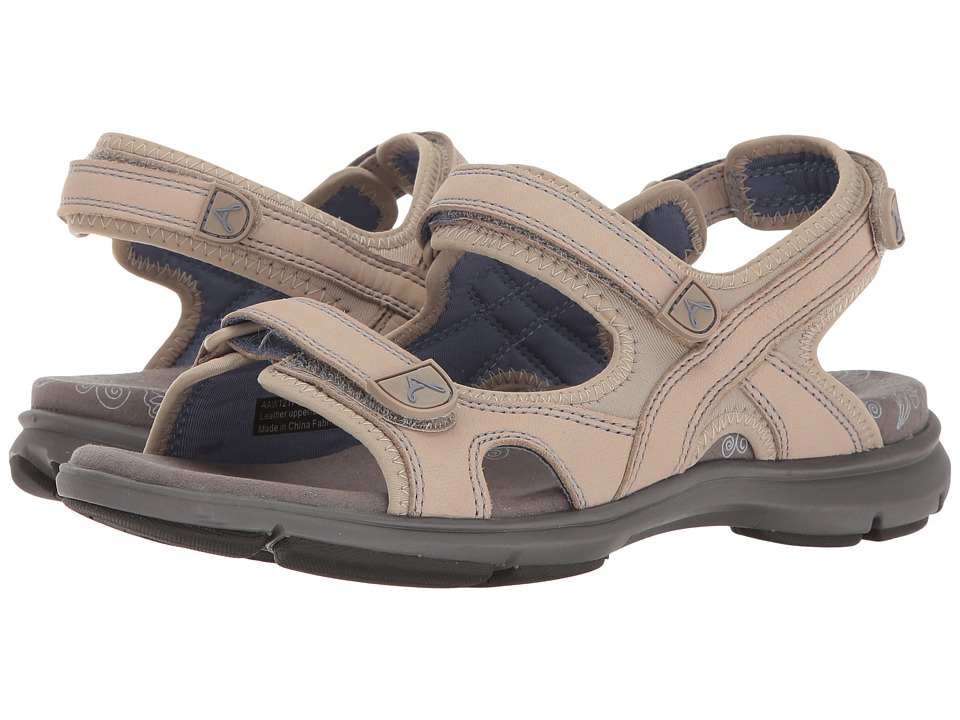 Aravon REVsandal Three Strap (Taupe) Women