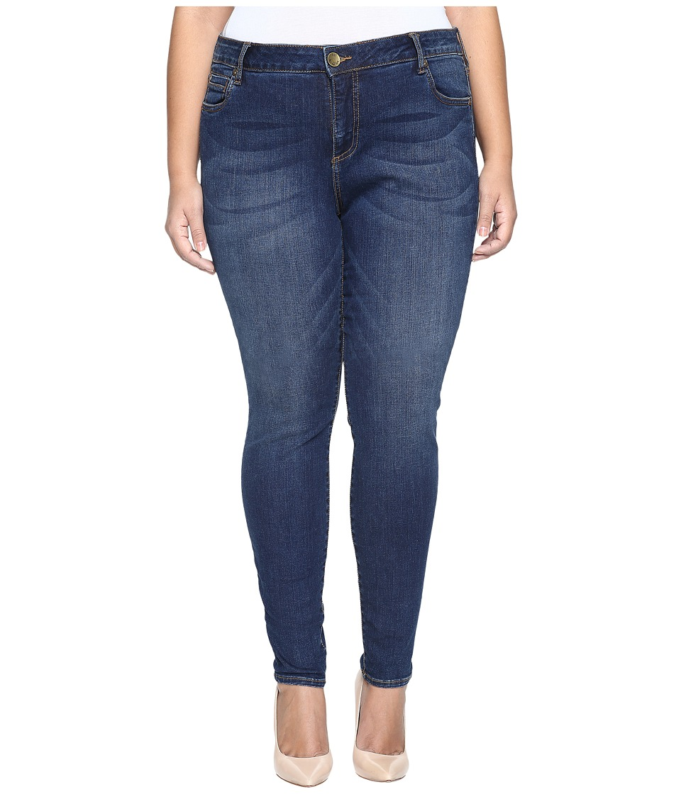 KUT from the Kloth Plus Size Mia Toothpick Skinny Jeans in Repose (Repose) Women