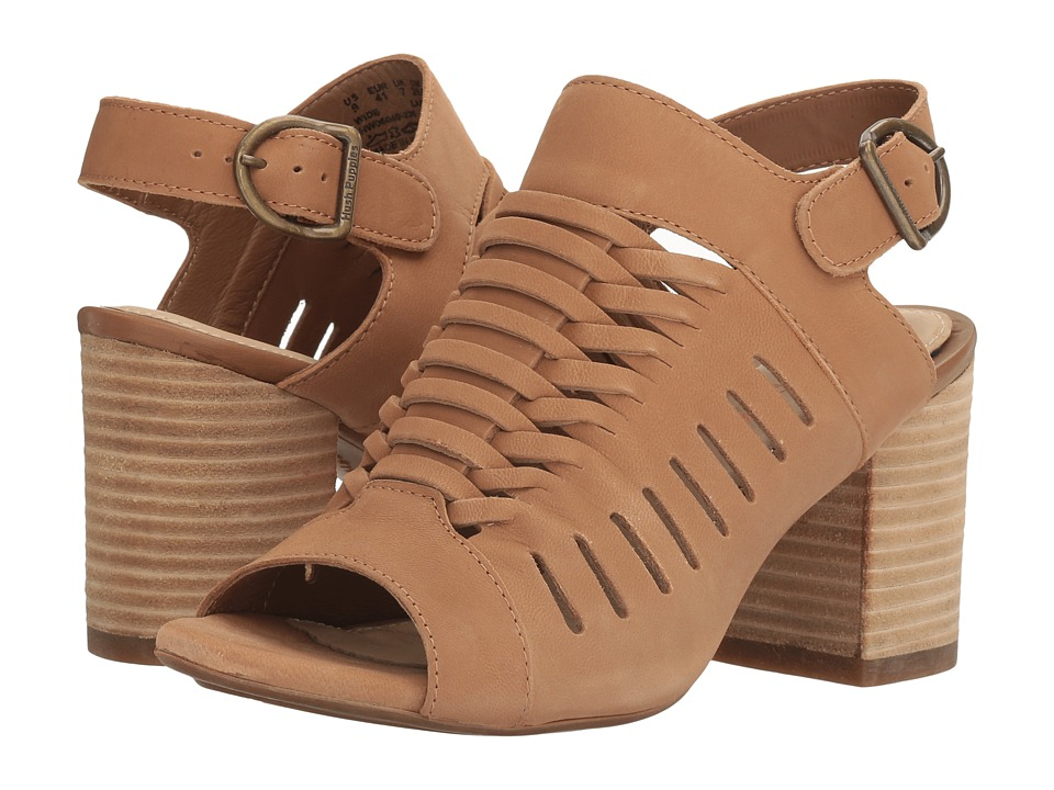 Hush Puppies - Sidra Malia (Light Tan Nubuck) Women's Wedge Shoes