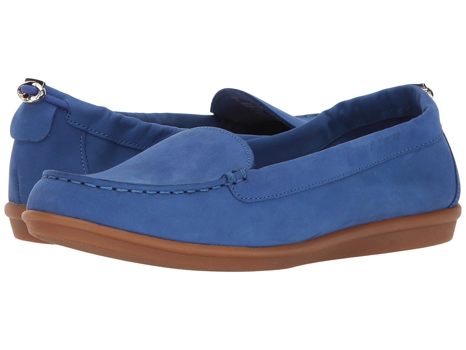 Hush Puppies - Endless Wink (Cobalt Nubuck) Women's Slip on Shoes