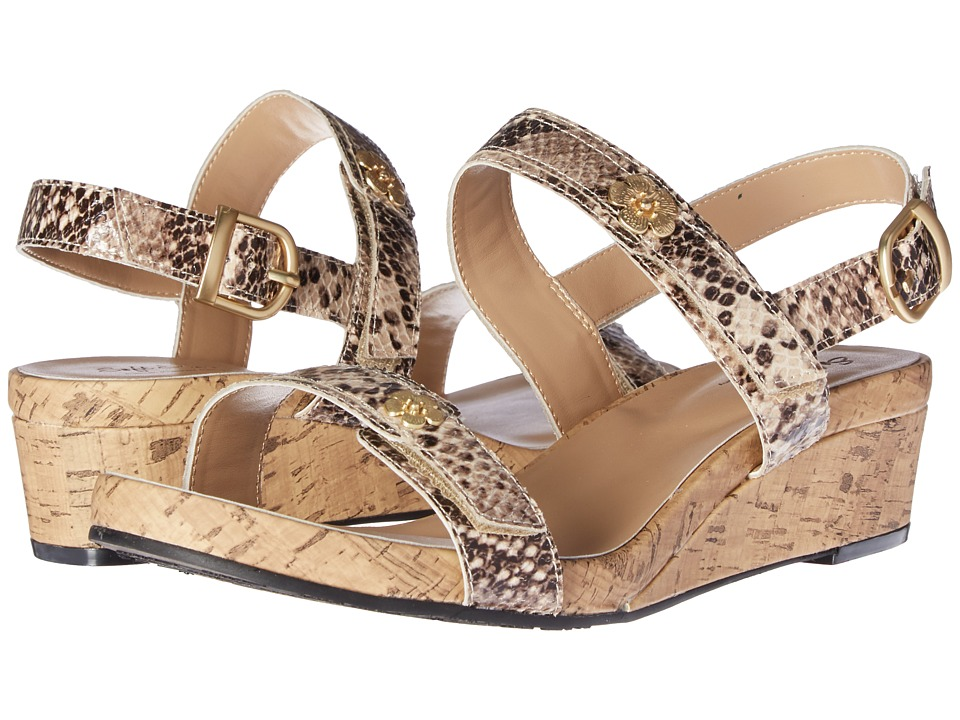 Soft Style - Oceane (Bone Python) Women's Wedge Shoes
