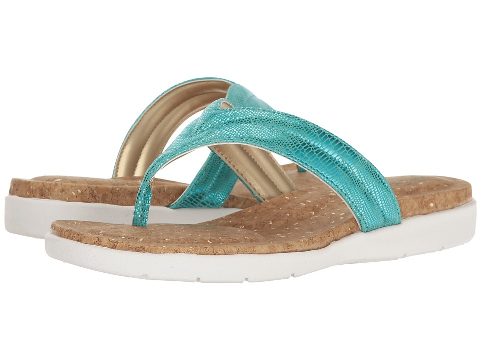 Soft Style - Lizzy (Teal Haku) Women's Sandals