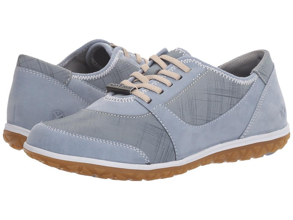 Hush Puppies - Basel Audra (Powder Blue Nubuck) Women's Shoes