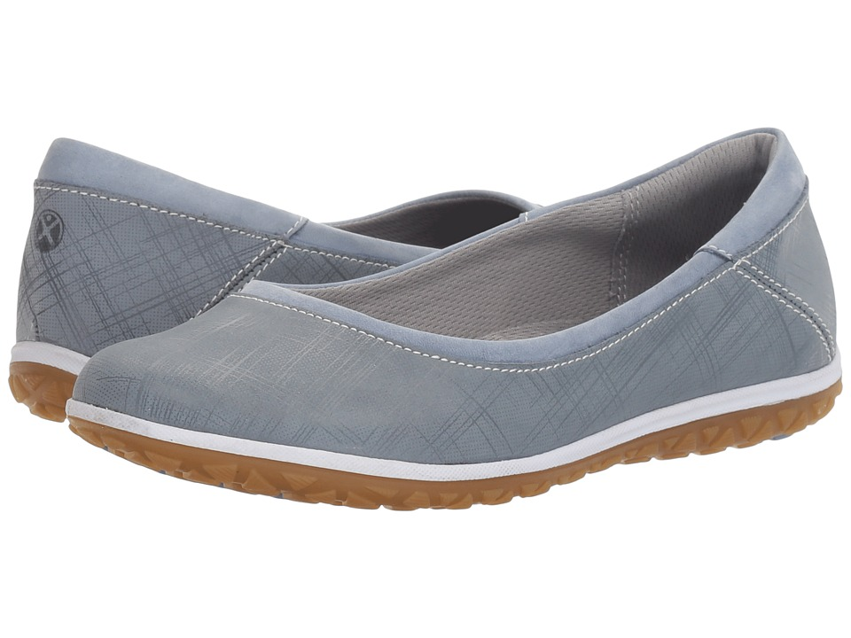 Hush Puppies - Berkleigh Audra (Powder Blue Crosshatch Nubuck) Women's Shoes