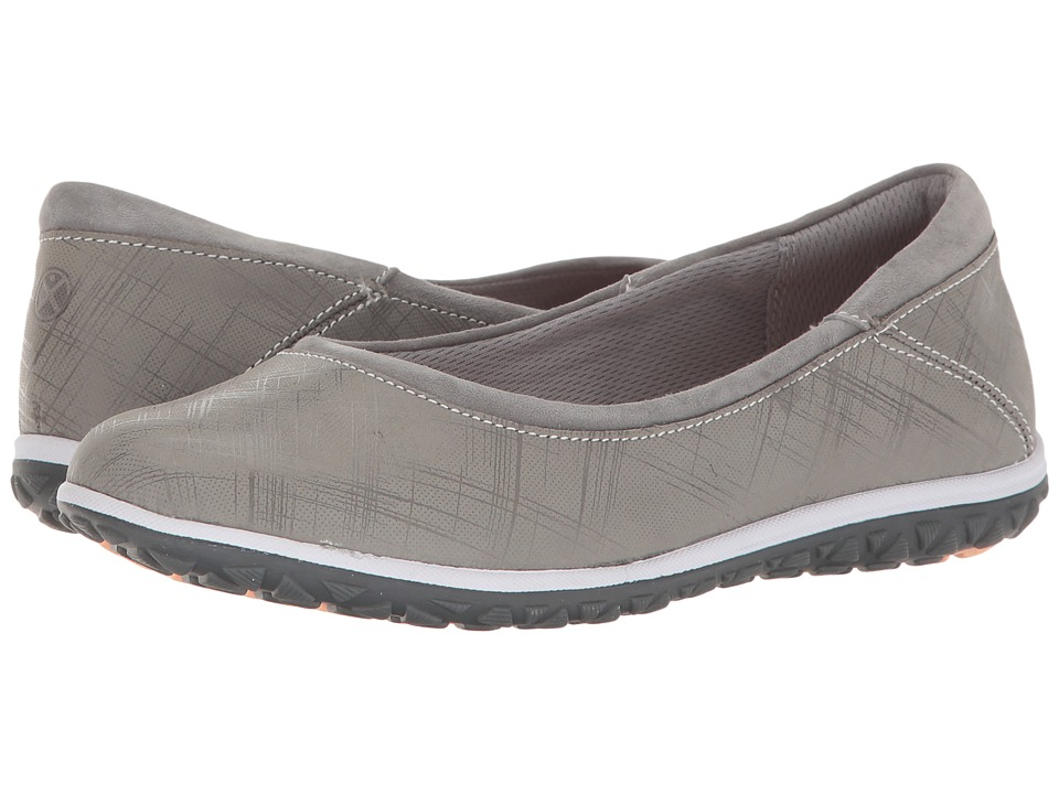 Hush Puppies Berkleigh Audra (Smoke Crosshatch Nubuck) Women