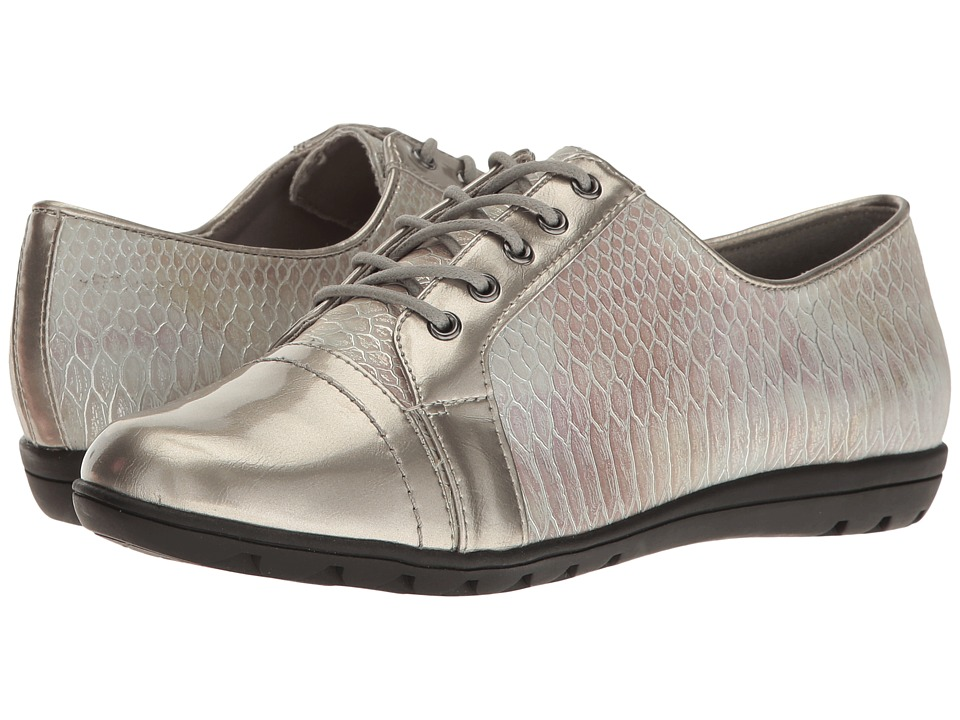 Soft Style - Valda (Pewter Snake) Women's Shoes