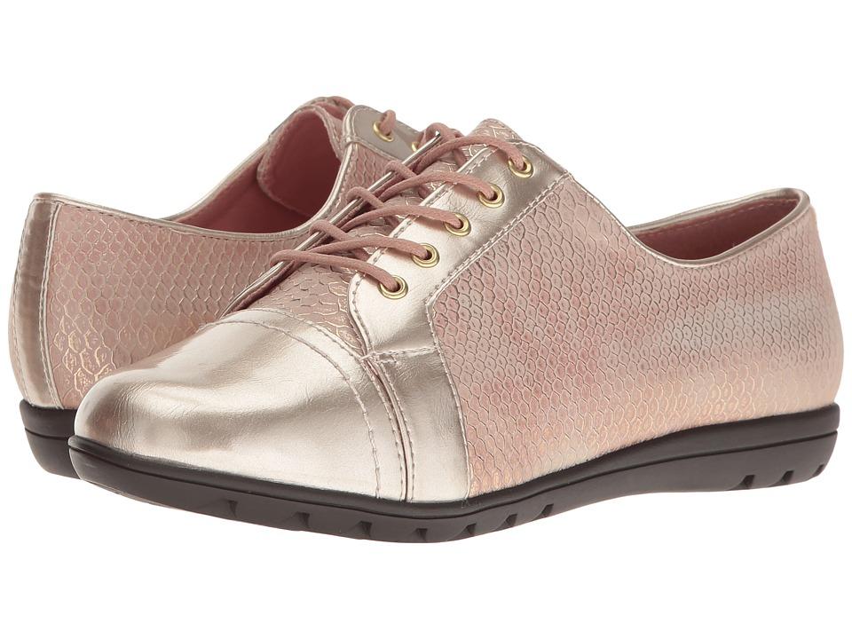 Soft Style - Valda (Rose Quartz Snake) Women's Shoes