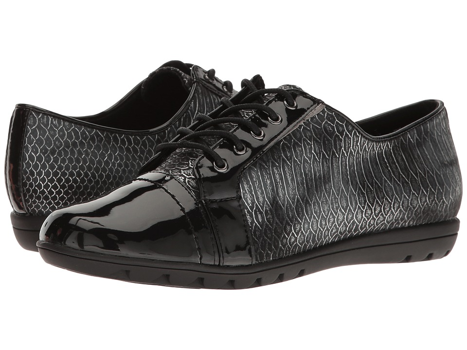 Soft Style - Valda (Black Snake) Women's Shoes