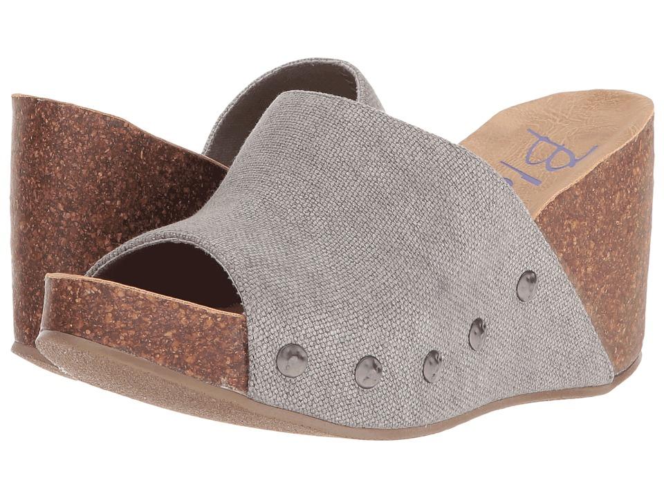 Blowfish - Host (Steel Grey Rancher Canvas) Women's Wedge Shoes