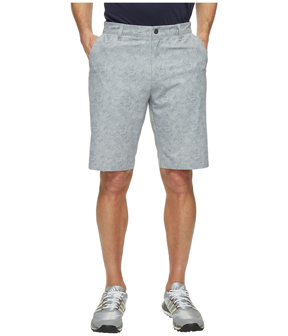 adidas Golf - Ultimate 365 2D Camo Shorts (Mid Grey) Men's Shorts