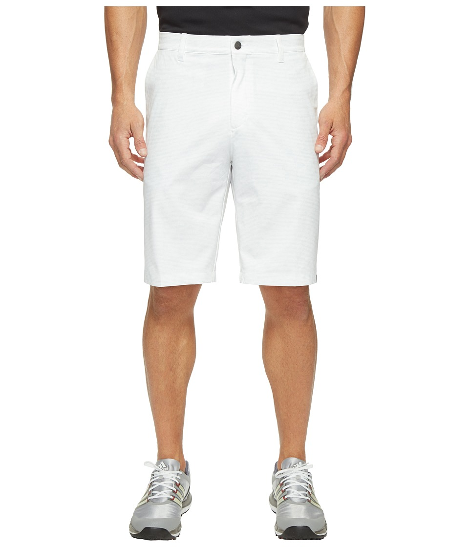 adidas Golf - Ultimate 365 2D Camo Shorts (White) Men's Shorts