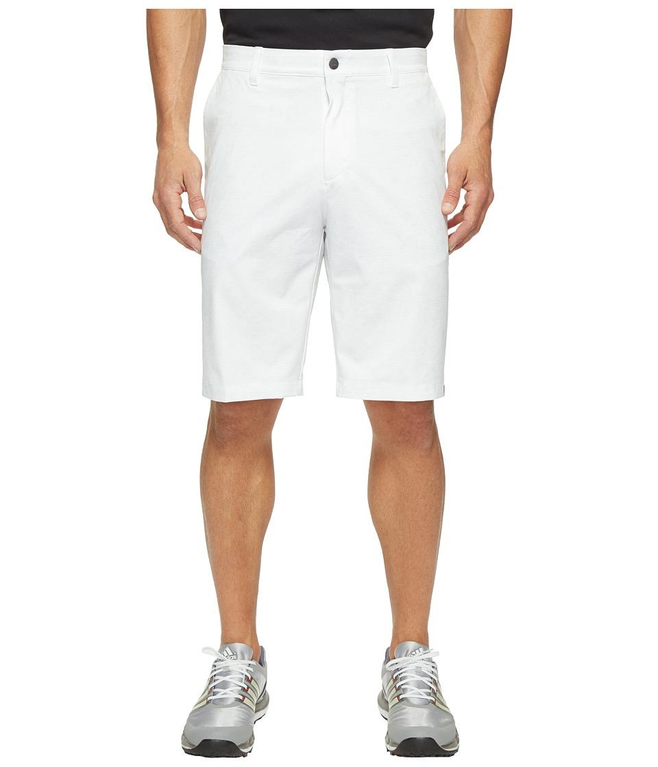 adidas Golf - Ultimate 365 2D Camo Shorts (White) Men's Shorts