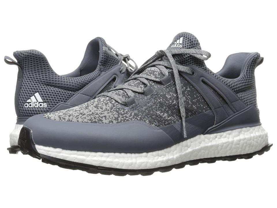 adidas Golf Crossknit Boost (Mid Grey/Onix/Ftwr White) Men