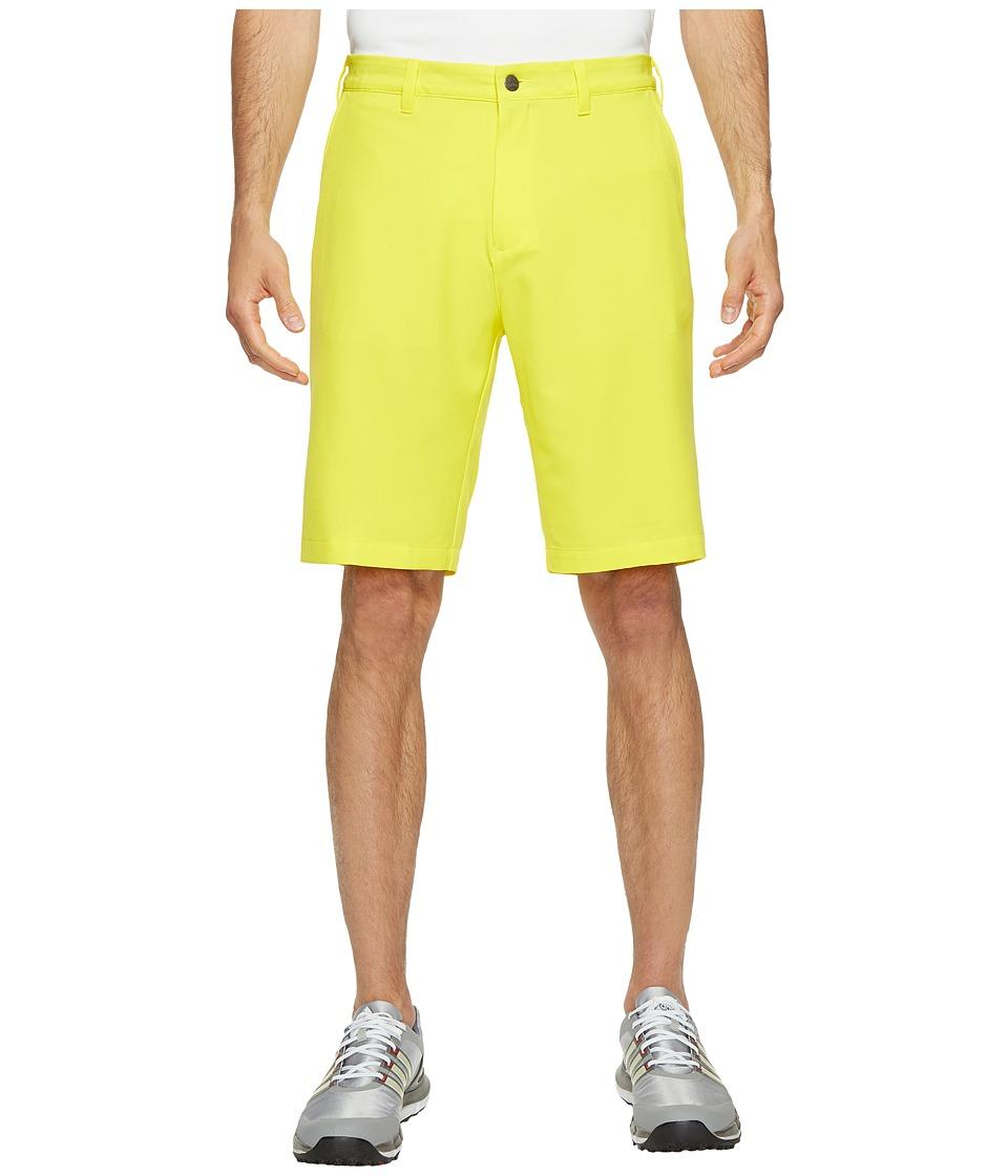 adidas Golf - Ultimate Shorts (Vivid Yellow) Men's Shorts