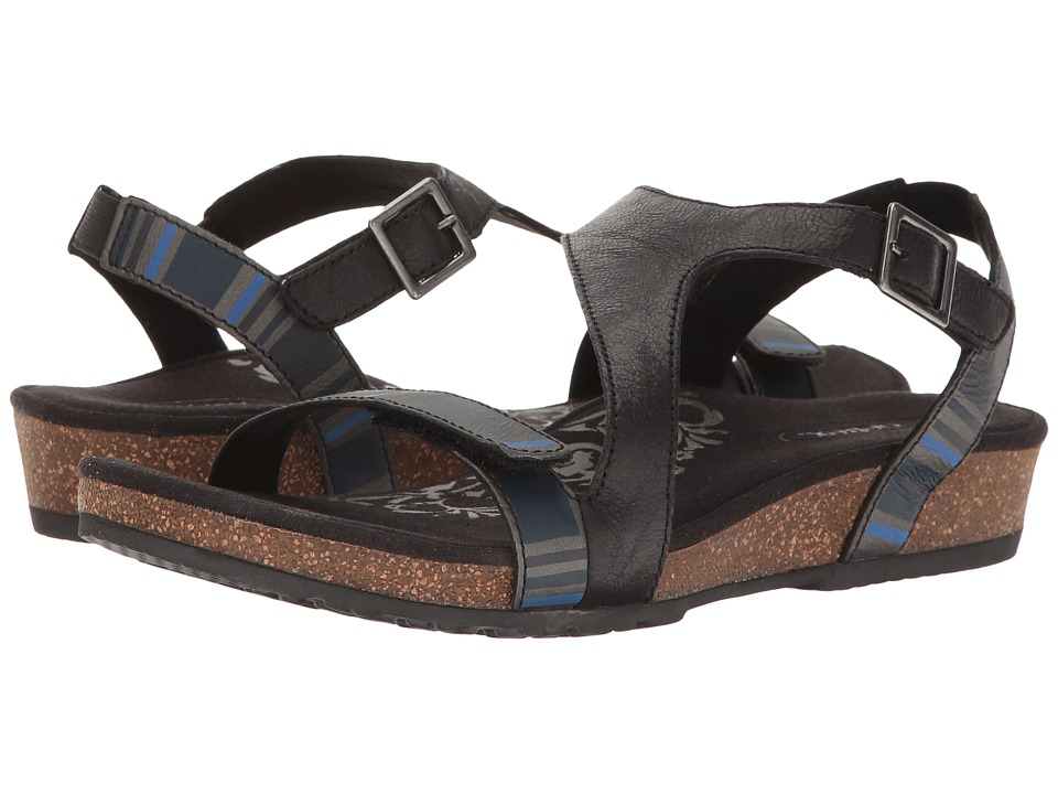 Aetrex - Jenny (Black) Women's Sandals