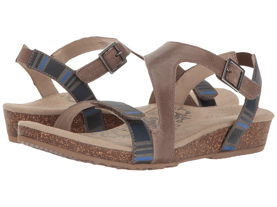 Aetrex - Jenny (Stone) Women's Sandals