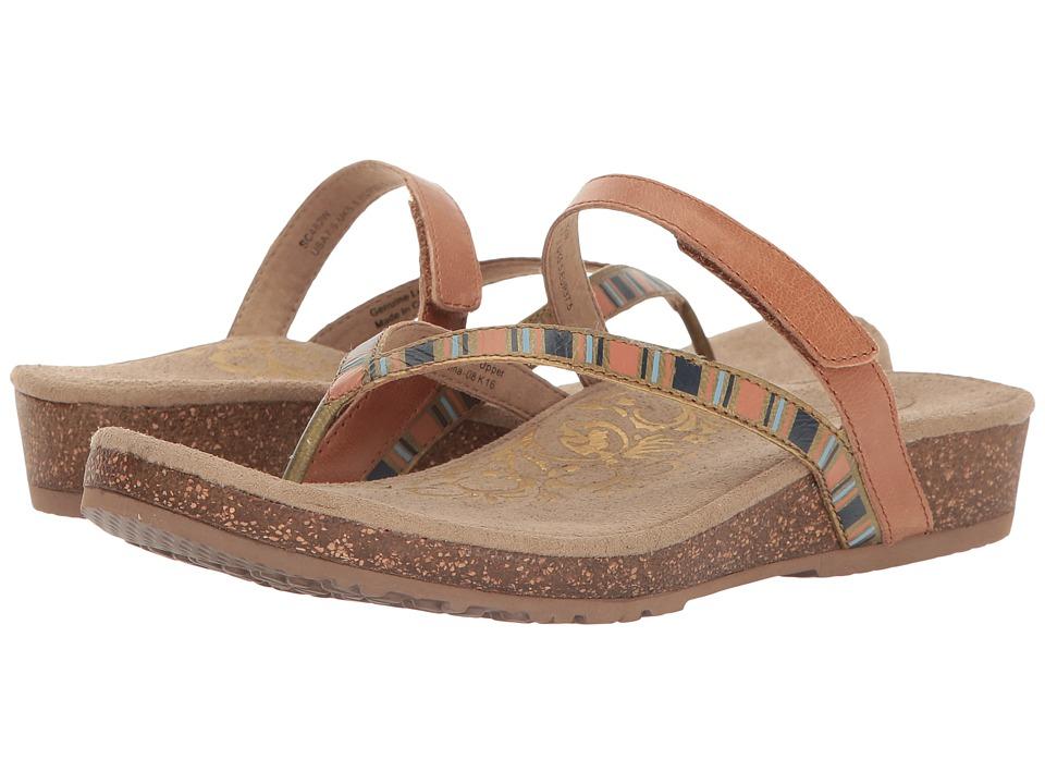 Aetrex - Elia (Cognac) Women's Sandals