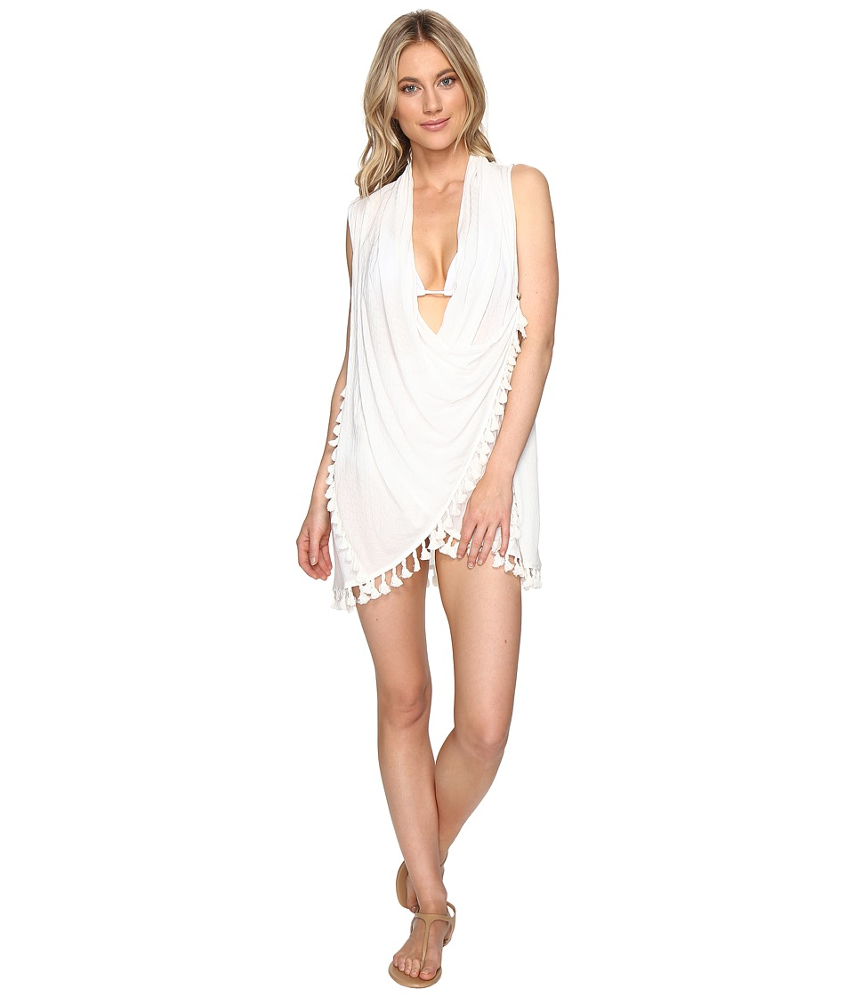 L*Space - Ocean Drive Vest Cover-Up (Ivory) Women's Swimwear