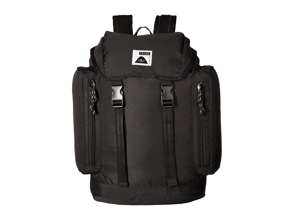 Poler - Rucksack Backpack (Black) Backpack Bags