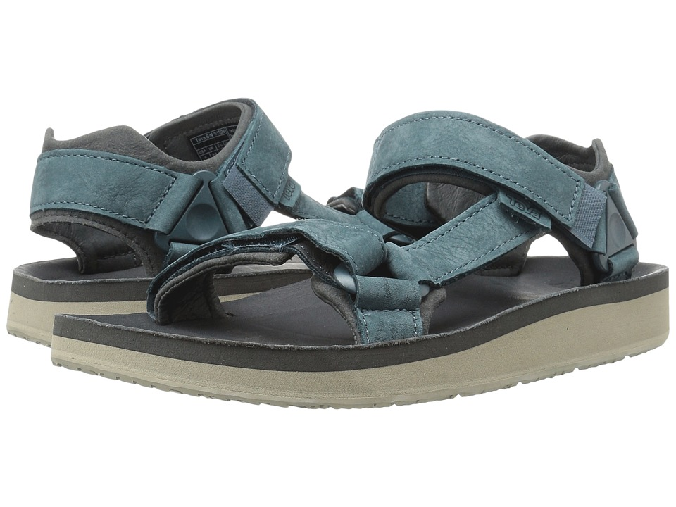 Teva Original Universal Premier Leather (Indigo) Men
