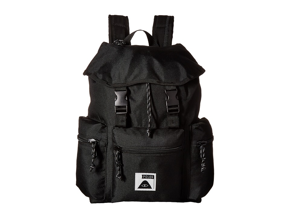 Poler - Roamers Pack Backpack (Black) Backpack Bags