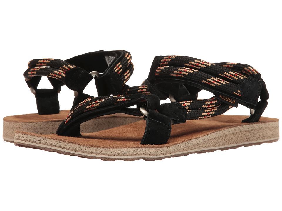 Teva - Original Universal Rope (Black) Men's Shoes