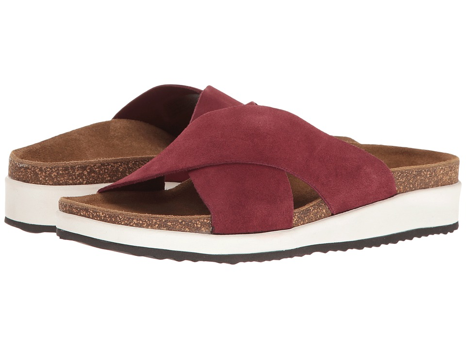 Aetrex - Dawn (Maroon) Women's Sandals