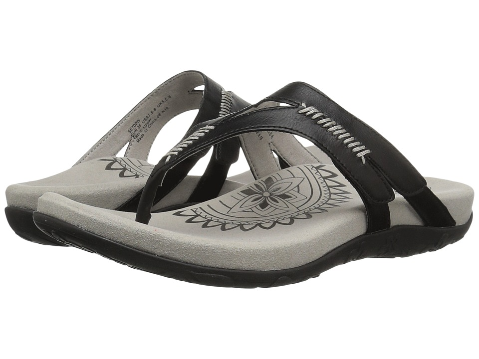 Aetrex - Celia (Black) Women's Sandals