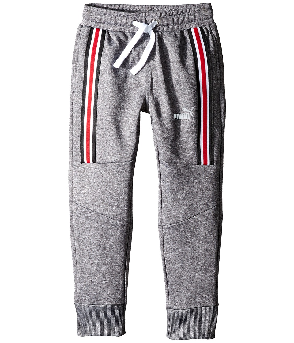 Puma Kids - #1 Cat Jogger Pants (Little Kids/Big Kids) (Charcoal Heather) Boy's Casual Pants