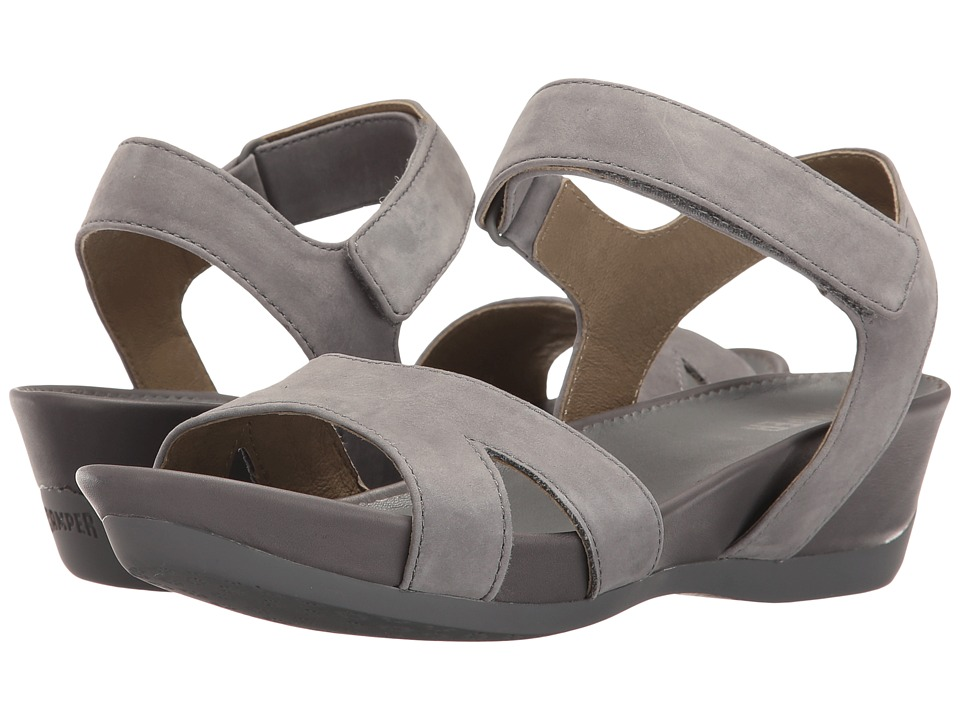 Camper - Micro - K200116 (Medium Grey) Women's Sandals