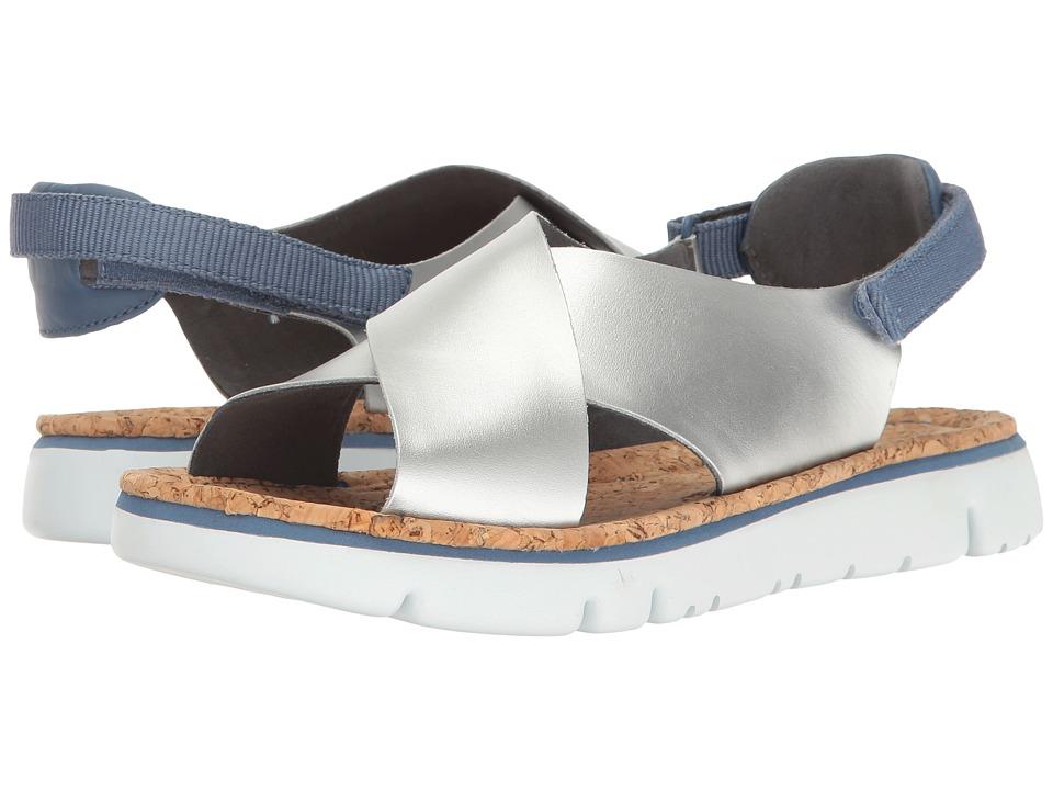Camper - Oruga - K200157 (Silver) Women's Sandals