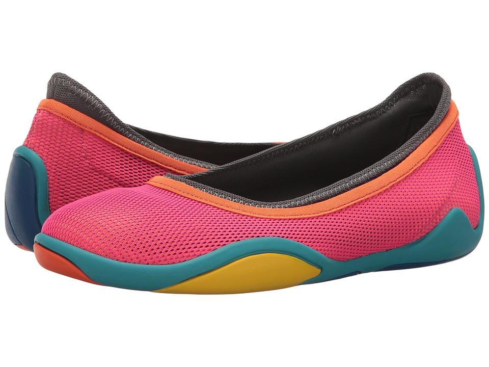 Camper - Noshu - K200451 (Red) Women's Slip on Shoes