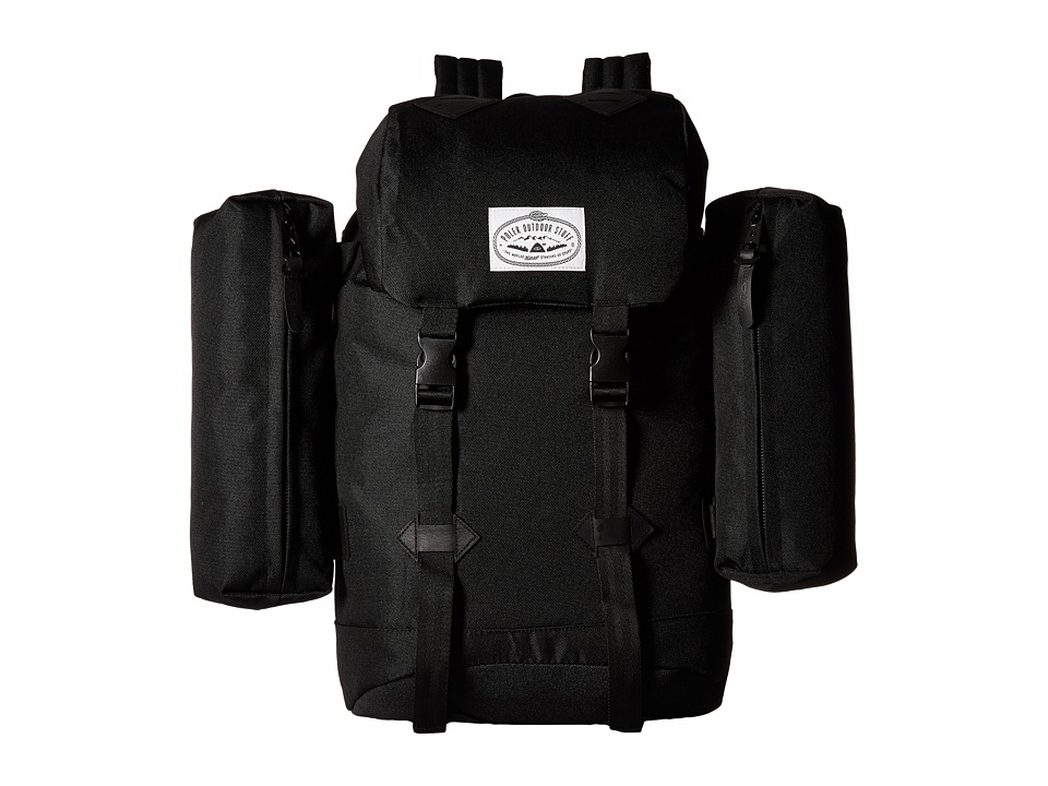 Poler - Classic Rucksack Backpack (Black) Backpack Bags