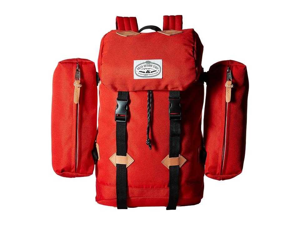 Poler - Classic Rucksack Backpack (Bright Red) Backpack Bags