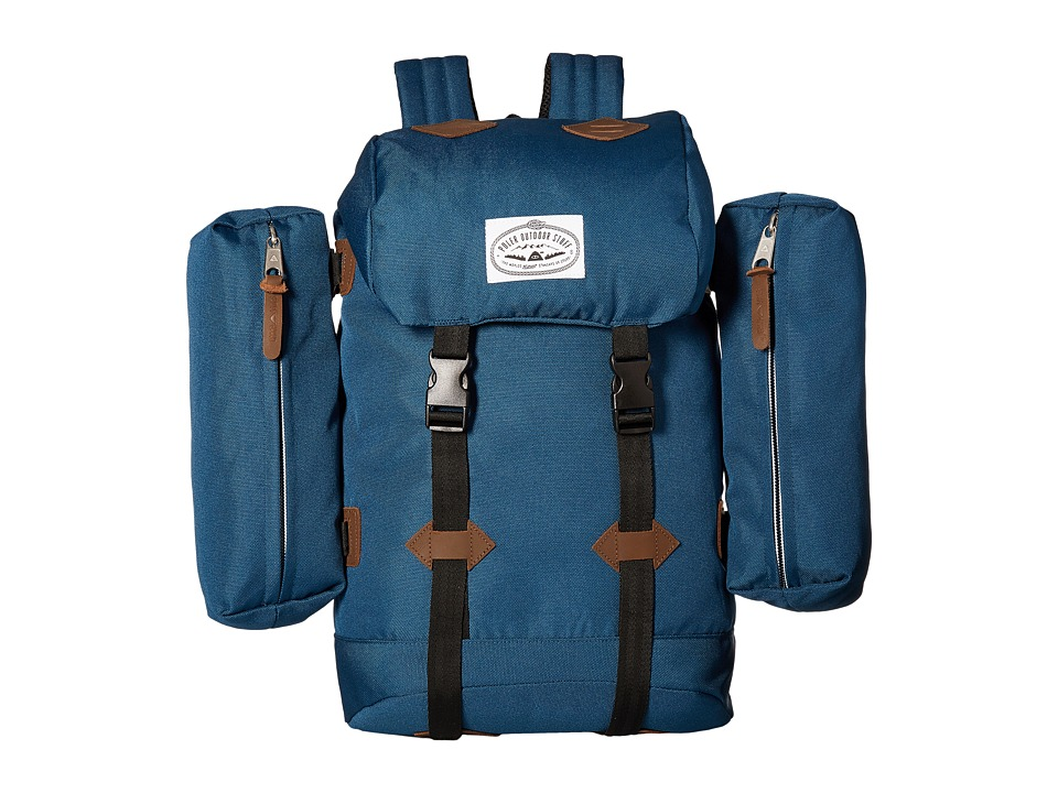 Poler - Classic Rucksack Backpack (Navy) Backpack Bags