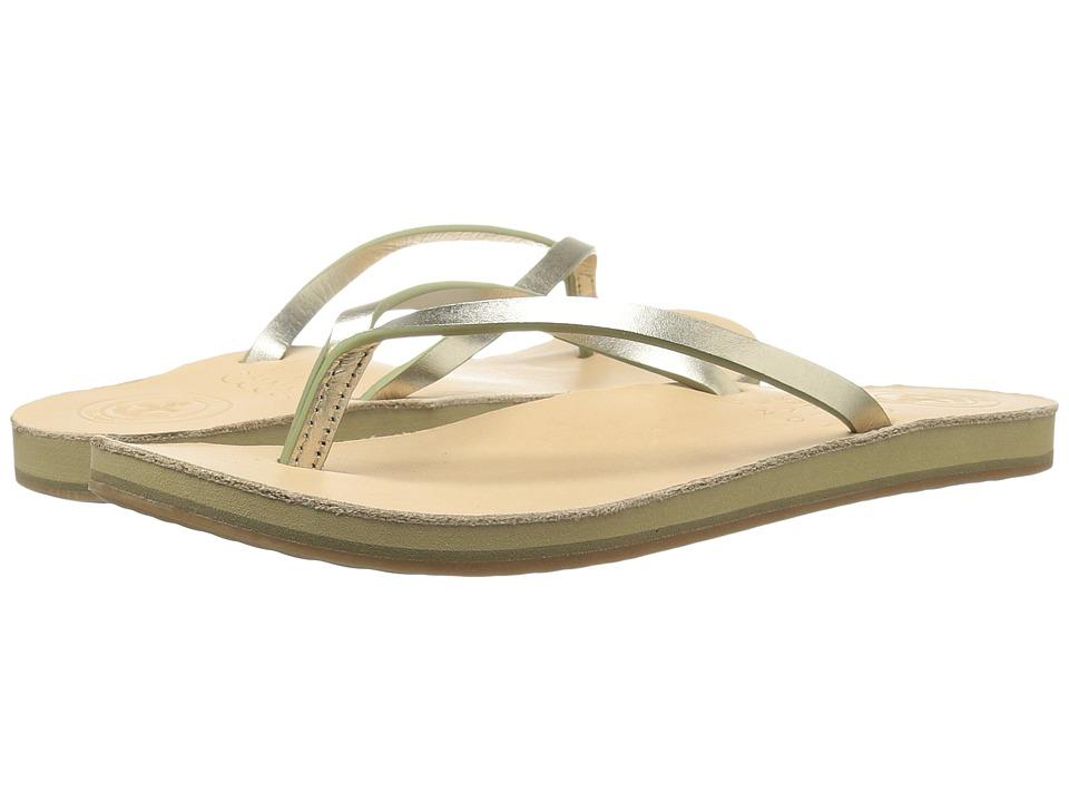 Cape Cod Shoe Supply - Anchor (Gold) Women's Sandals