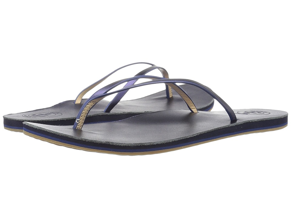 Cape Cod Shoe Supply - Apres (Metallic Navy) Women's Sandals