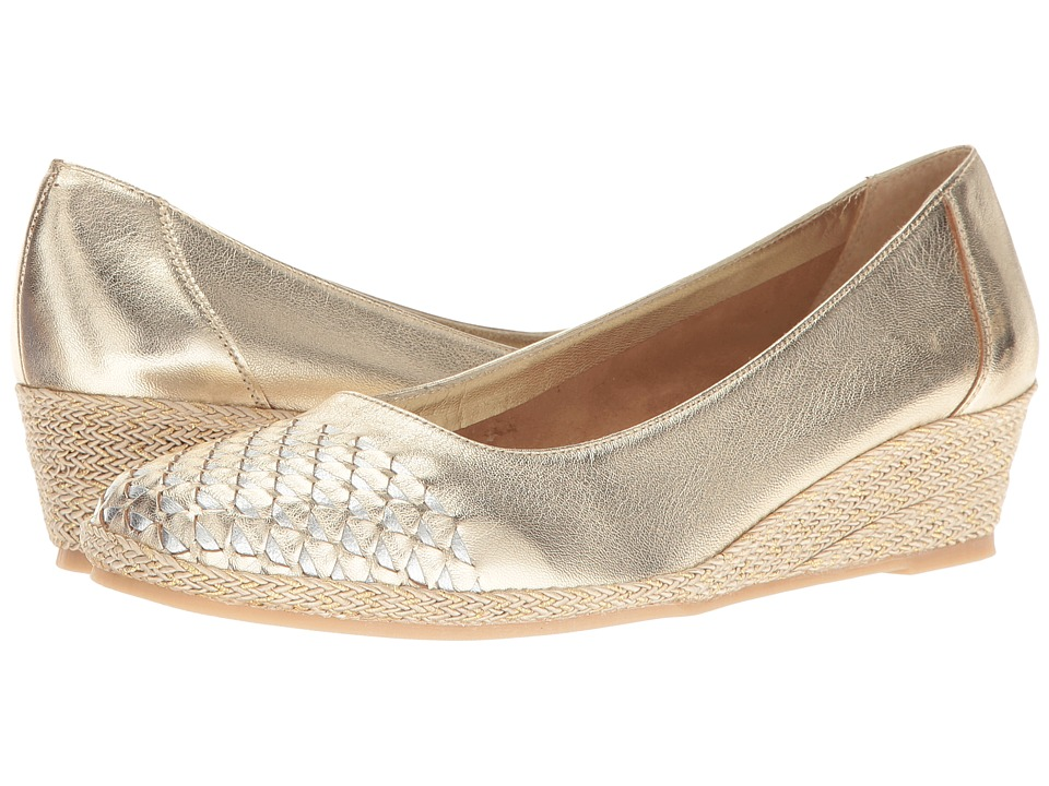 Sesto Meucci - Myette (Yute Metallic Nappa/Silver Metallic Nappa 1) Women's Wedge Shoes
