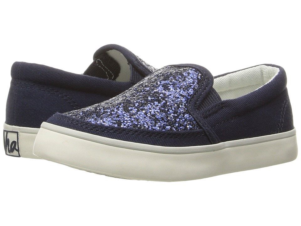 Hanna Andersson - Maria (Toddler/Little Kid/Big Kid) (Navy) Girls Shoes