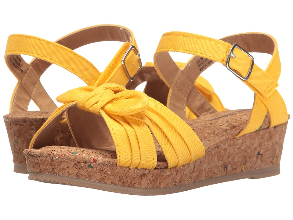 Hanna Andersson - Cathrin (Toddler/Little Kid/Big Kid) (Sunshine) Girls Shoes